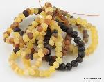 Teething Tots Baltic Amber - Raw Infant Teething Necklace
