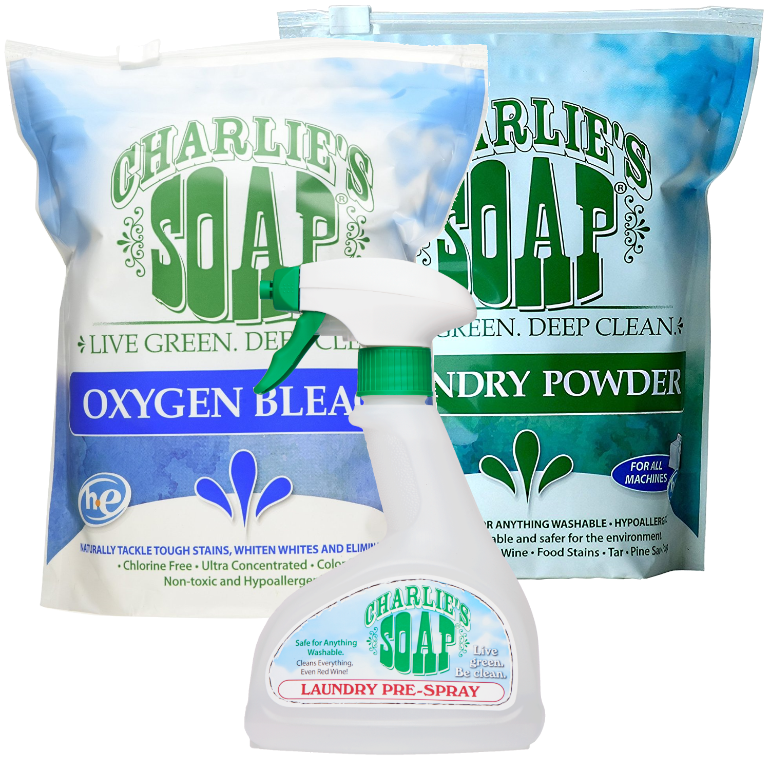 Charlies Laundry Powder Review: Charlie's Laundry Stain Fighting Kit