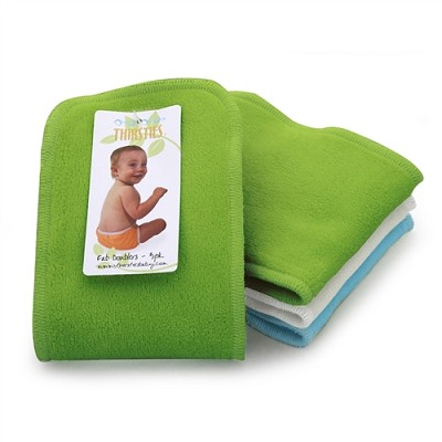 Thirsties Fab Doublers (3 Pk) - Boy