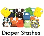 Pre-selected package of cloth diapers for super savings!