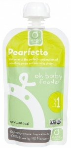 Oh Baby Foods - Level 1 - Pearfecto