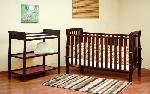 Athena Naomi 4-In-1 Convertible Crib - Cherry