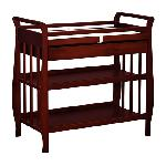 Athena Nadia Changing Table With Drawer - Cherry