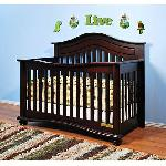 Athena Jordanna Collection Lia 3-In-1 Convertible Crib -cherry