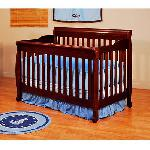 Athena Alice 3-In-1 Convertible Crib - Cherry