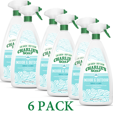 Charlie's Indoor/Outdoor Surface Cleaner  (6-pack)
