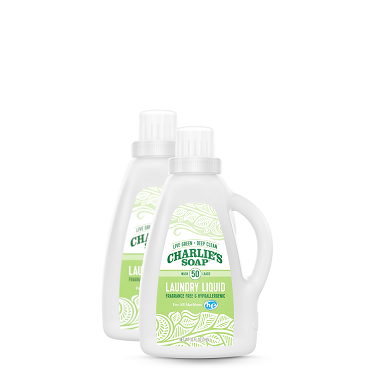 Charlie's Soap Laundry 32 oz Liquid -2 pack