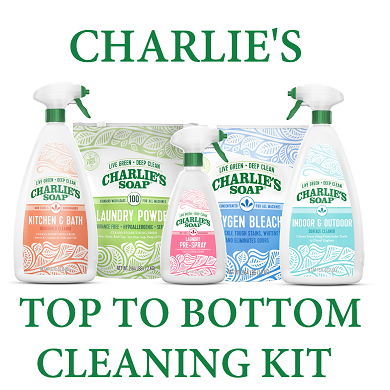 Charlie's Top To Bottom Cleaning Kit