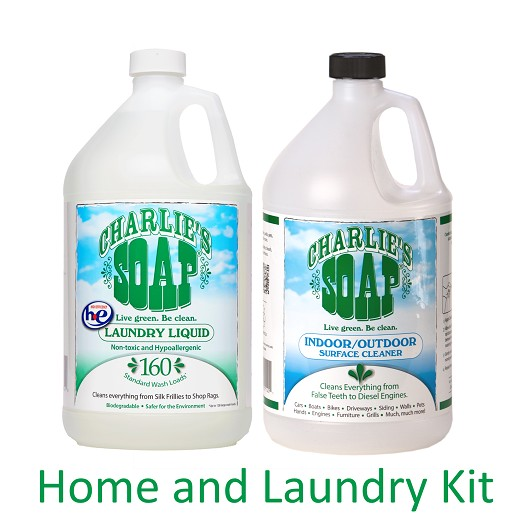 Charlie's Home And Laundry Kit (Gallons Size)
