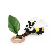 Apple Park Crawling Critter Teething Toy - Bee