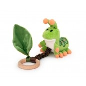 Apple Park Crawling Critter Teething Toy - Caterpillar