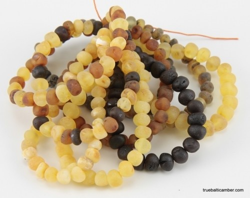 Teething Tots Baltic Amber - BRACELET