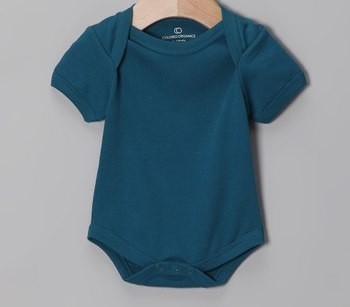 Colored Organics Short Sleeve Bodysuit