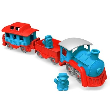 Green Toys Train Set - Blue