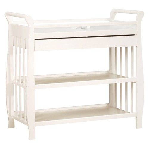 Athena Nadia Changing Table With Drawer - White