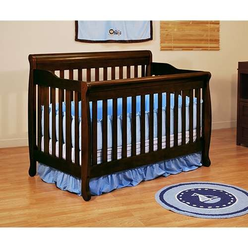 Athena Alice 3-In-1 Convertible Crib - Espresso