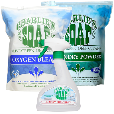 Charlie's Laundry Stain Fighting Kit - Powder